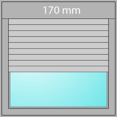 Aufsatzrollladen 170mm