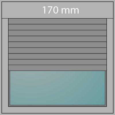 Aufsatzrollladen 170mm + Insektenschutz
