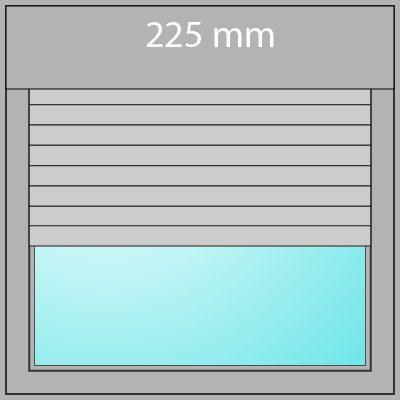 Aufsatzrollladen 225mm