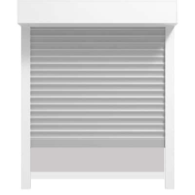 Unterputzrollladen 90° mit Insektenschutz